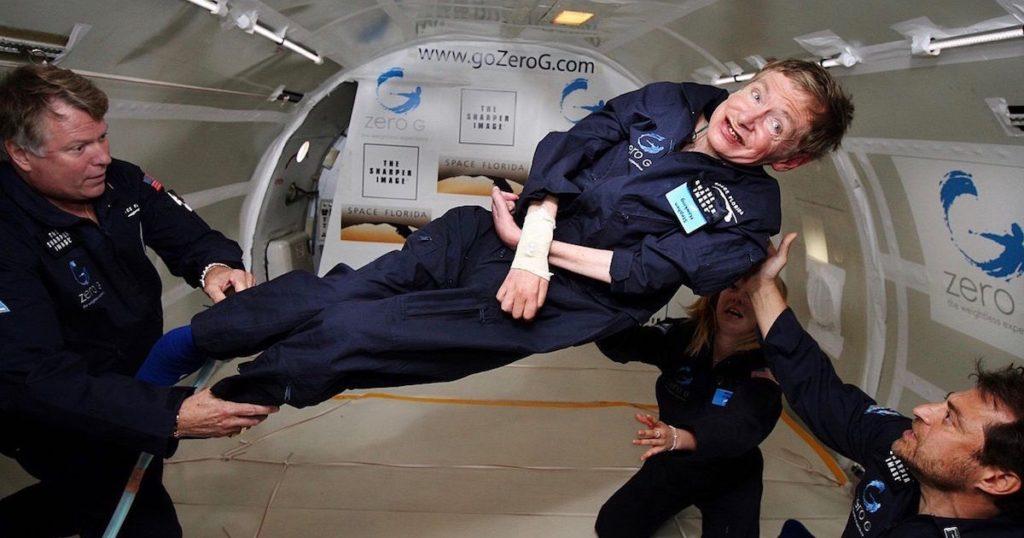 Hawking zero gravity